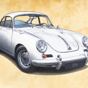 ESQUISSE D'UNE LÉGENDE (Porsche 356)