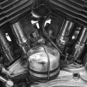 CŒUR DE MOTO (Harley WLC 1943))